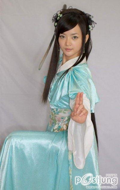 Queenie Tai as Xiao Qing (Love of the Millennium 2