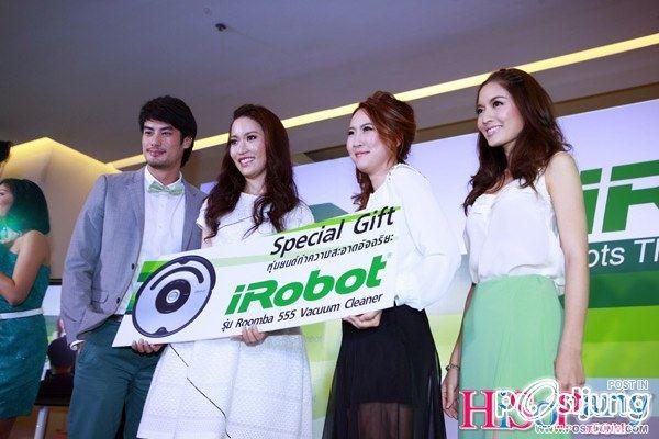 บอย ปกรณ์ - แอฟ - น็อต วิศรุต @ งาน iRobot