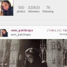 อั้ม พัชราภา   ขึ้นอันดับ 1 ยอด follow ใน instagram ของคนไทยเป็นที่เรียบร้อยแล้ว !!