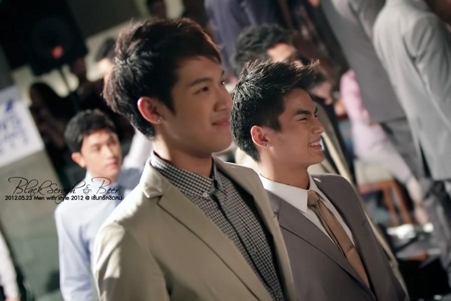 โดม แกงส้ม ฮั่น แคน ฮัท เดินแบบงาน Men with style 2012 @ เซ็นทรัลชิดลม