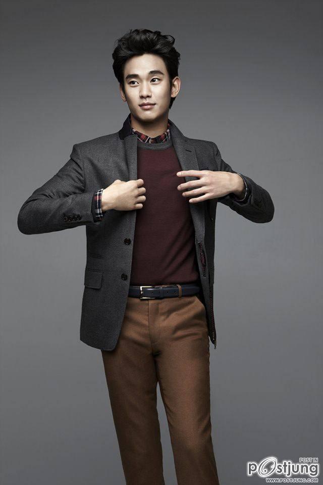 Kim Soo Hyun @ ZIOZIA fall 2012 Ad campaign