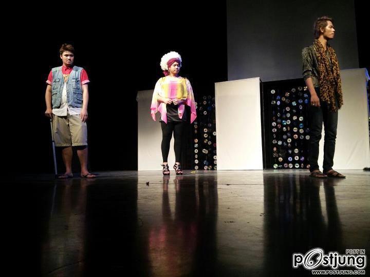 ภาควิชาศิลปะการแดงประยุกต์ คณะศิลปกรรมศาสตร์ มหาวิทยาลัยธุรกิจบัณฑิตย์ กับละครเวทีประจำภาคปีนี้