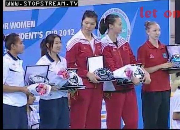 [PIC] สาวไทยรับเหรียญทอง AVC Cup 2012