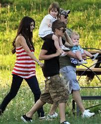Justin Bieber & Family