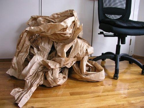 DIY ตะกร้ากระดาษ ตะกร้ากระดาษรีไซเคิล