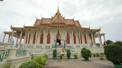 พระราชวังเขมรินทร์แห่งกรุงพนมเปญกัมพูชา