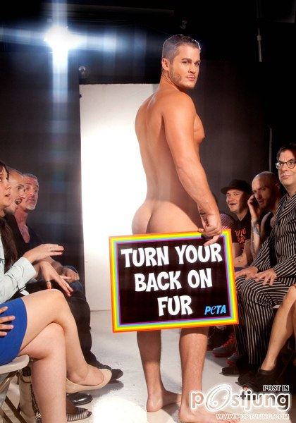 PETA : Naked Campaign : HQ images