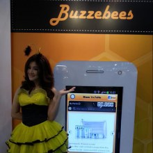 Thailand Online Expo 2013 บูท Buzzebees แน่น!