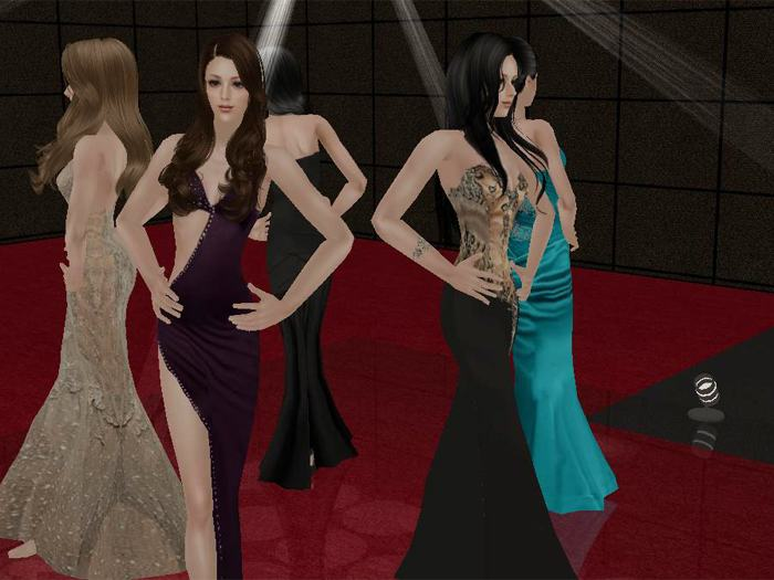 Miss sims Queen international 2013 ( Top 5 )