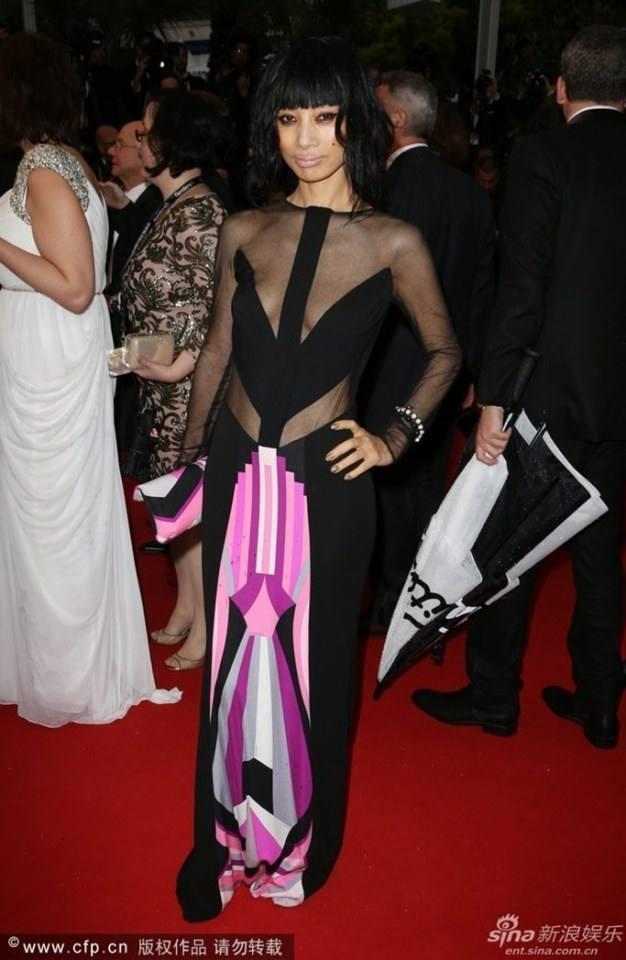 Bai Ling @ Red Carpet Cannes Film Festival 2013