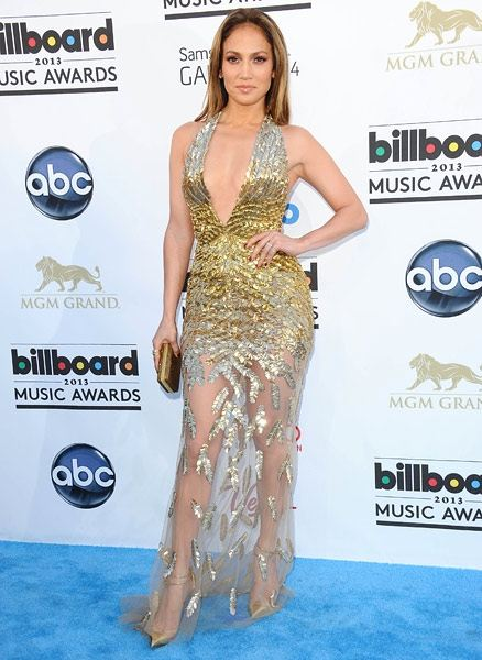 Zuhair Murad from Jennifer Lopez. Her gown is from the designer's Couture line