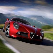 สง่างามแท้ Alfa Romeo 8c Competizione