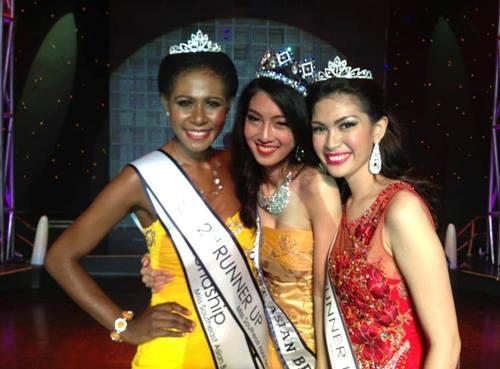 """""""อาหยก"""" บุษบรรณ ยืนไพโรจน์ Miss Southeast Asian Beauty Pageant 2013"""