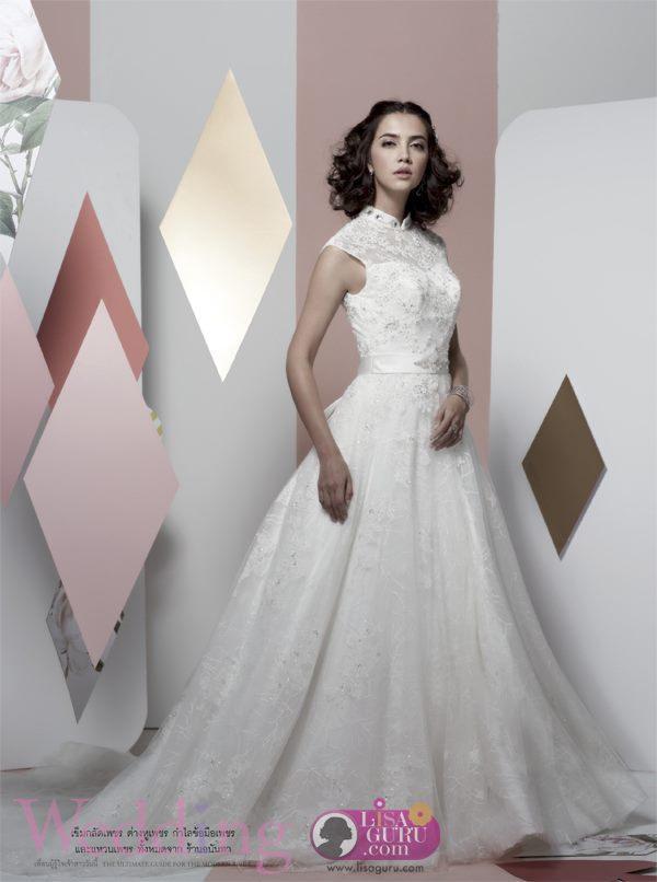 ซาร่า เล็กจ์ @ Wedding Magazine August 2013