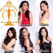 Official Portrait Pictures Asean Beauty Team in #MissSupranational2013