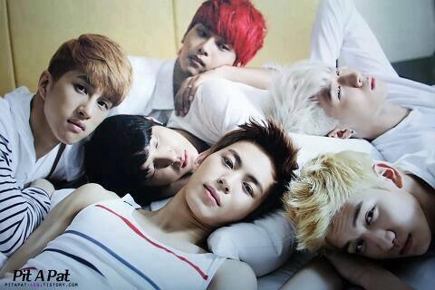 ลีลาการนอน...ของ 6 หนุ่ม VIXX ..ฟินนนนนนบองตง