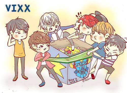 Cartoon character VIXX SO Cute มากๆๆๆ