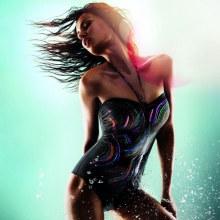 Catrinel Menghia in New Sexy Triumph Swimsuit