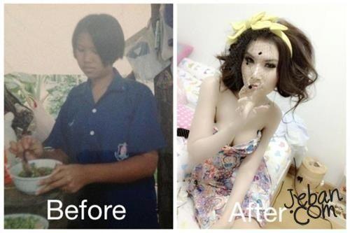 พลอยภัทร์ชา โกสิยวัฒน์ Ploypatcha สวยศัลยกรรมเปลี่ยนชีวิต เปลี่ยนใบหน้า
