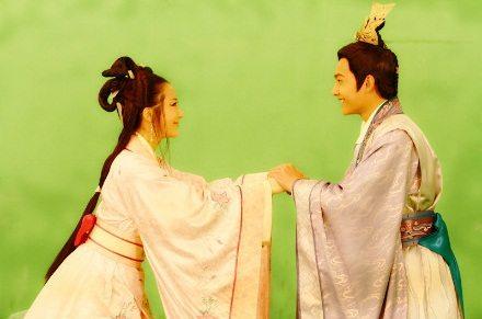 ตำนานรักบทเพลงสวรรค์《新洛神》 Legend of Goddess Luo 2013 part2