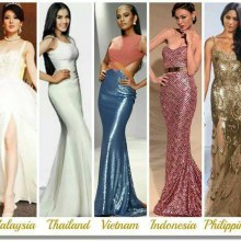 Asean girls for Miss Universe 2013
