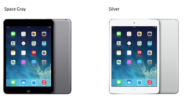 iPad mini 2 มี ขาวกับเทาให้เลือกเหมือนกัน แล้วมันจะต่างกันไหมเนี่ยยยย อิอิ