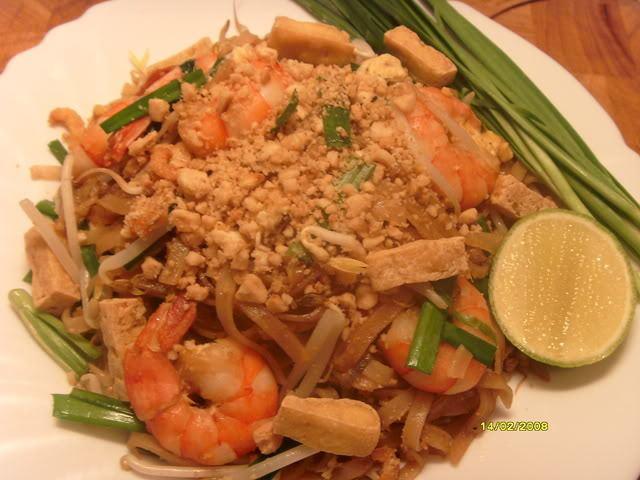ผัดไทยอาหารประจำชาติไทย