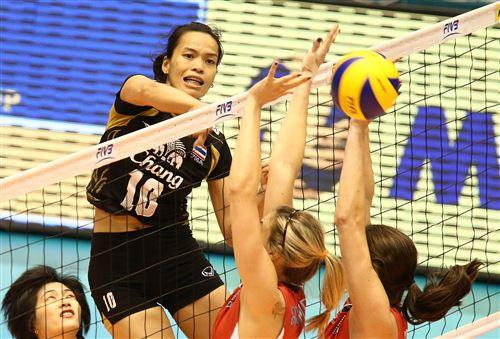 ตบสาวไทยทำดีที่สุด !! พ่ายสหรัฐสุดมันส์ 2-3 เซต