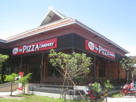 ร้านพิซซ่าในประเทศลาว