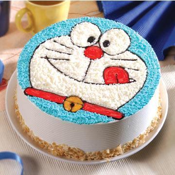 เค้กโดราเอม่อนน่ารักน่ารัก