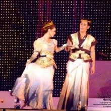 พระเวสสันดร และ พระนางมัทรี เวอร์ชั่น OK (อ๋อม-ขวัญ) ใน ละครเวที มหาชาติ มหาบุรุษ
