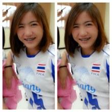 น้องป๊อป นริศรา แก้วมะ นักวอลเลย์บอลชุดยุวชนทีมชาติไทย