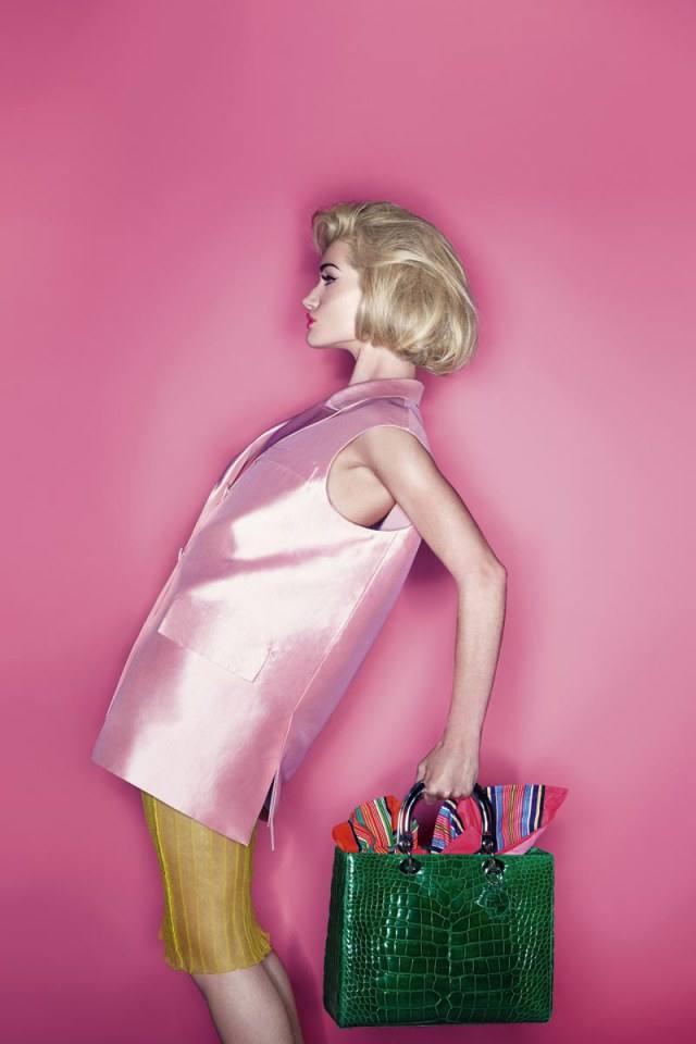 Rosie Huntington-Whiteley @ Harper's Bazaar UK March 2014