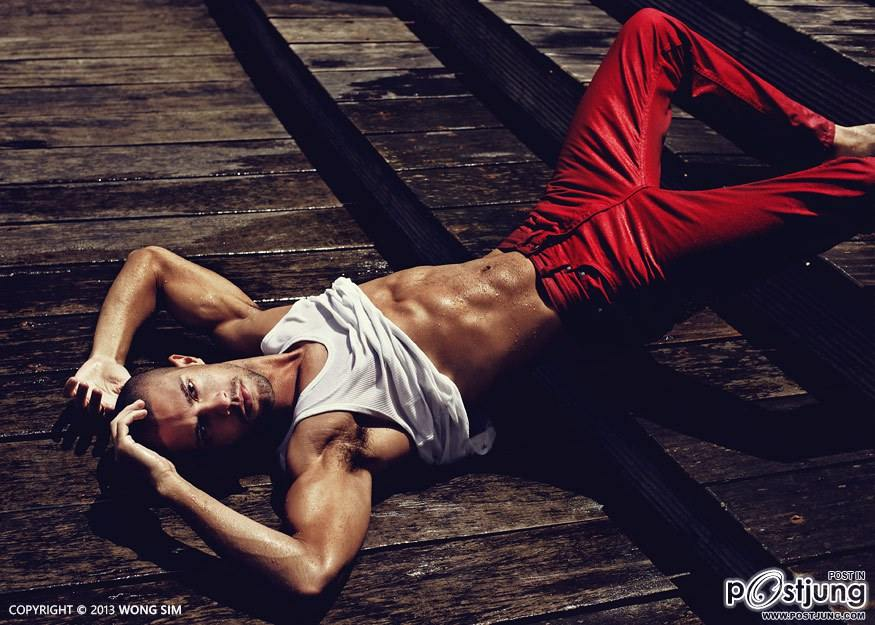 Guilherme Costa Brazilian male model
