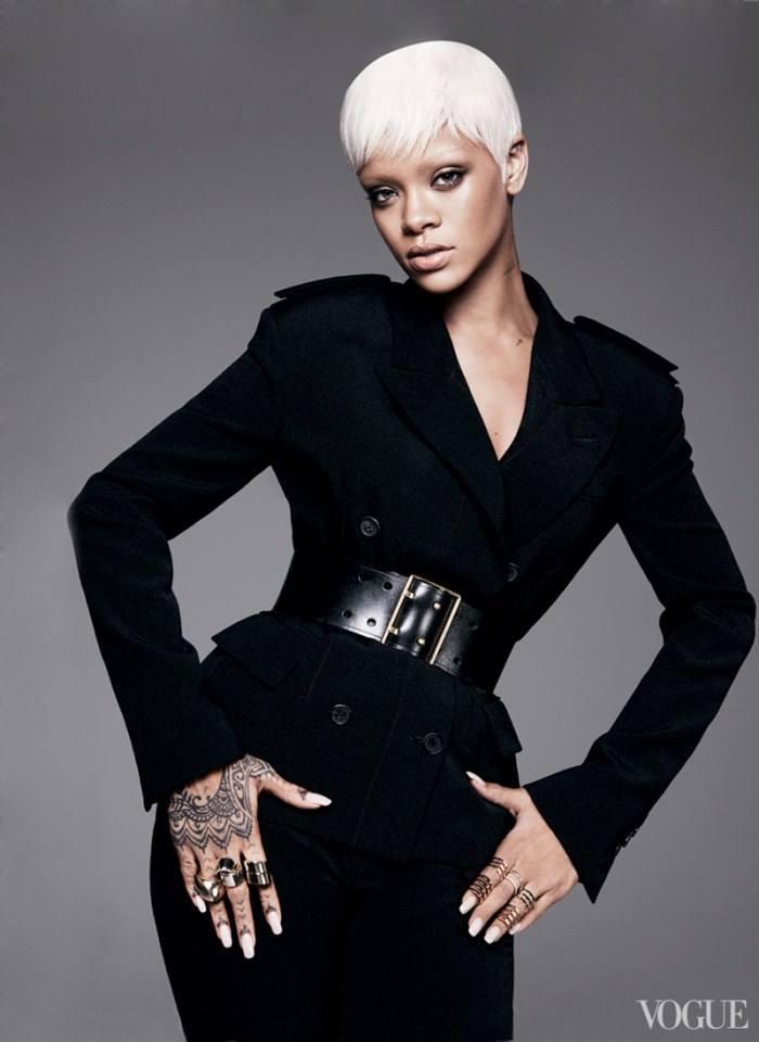 Rihanna @ Vogue US March 2014