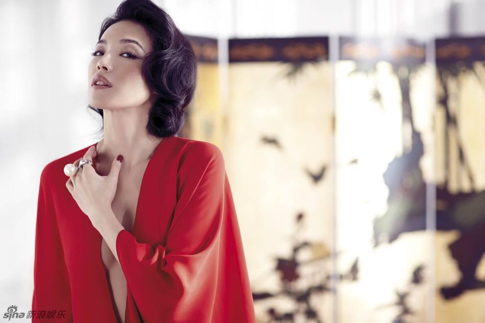 Shu Qi @ Vogue Taiwan March 2014