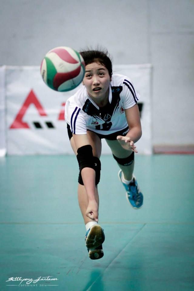 นริศรา แก้วมะ นักวอลเลย์สาวน่ารัก แห่งวอลเลย์บอล ไทยแลนด์ลีก