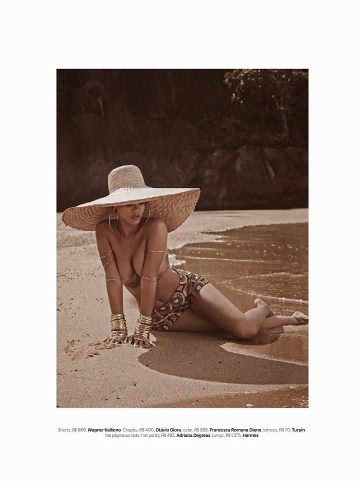 Rihanna @ Vogue Brazil May 2014