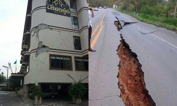 ด่วน! แผ่นดินไหว เชียงราย เหนือ-กทม.รู้สึก
