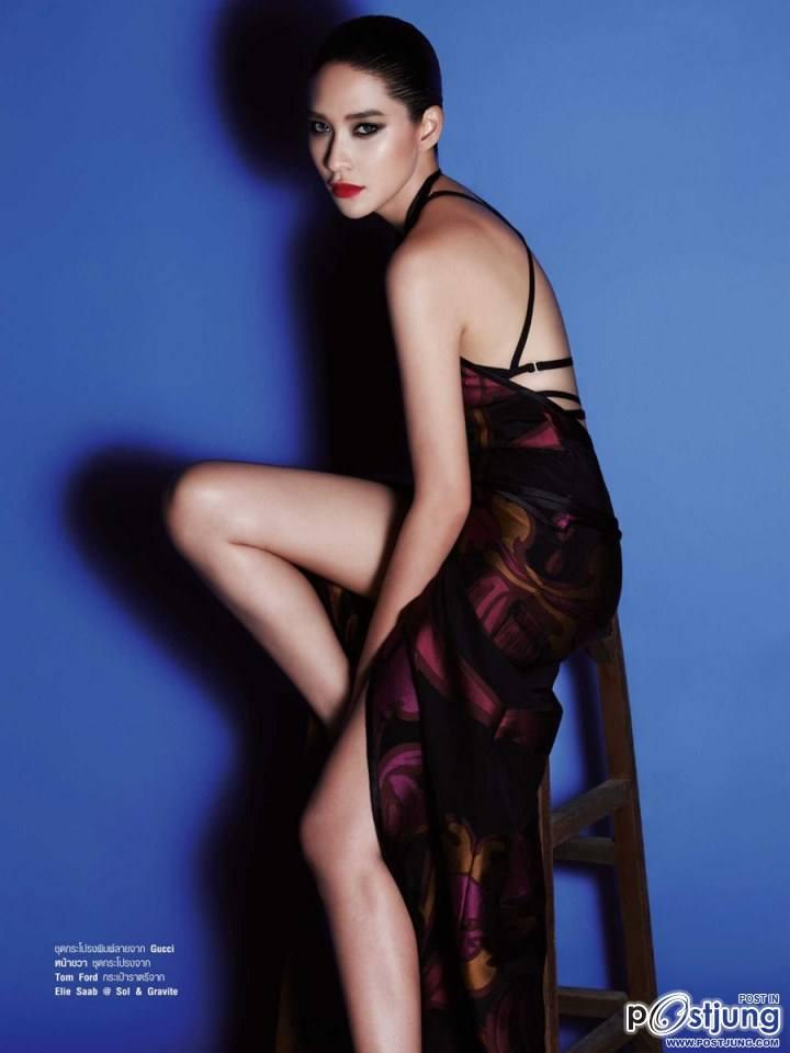 พลอย เฌอมาลย์ @ Harper's Bazaar vol.10 no.111 May 2014