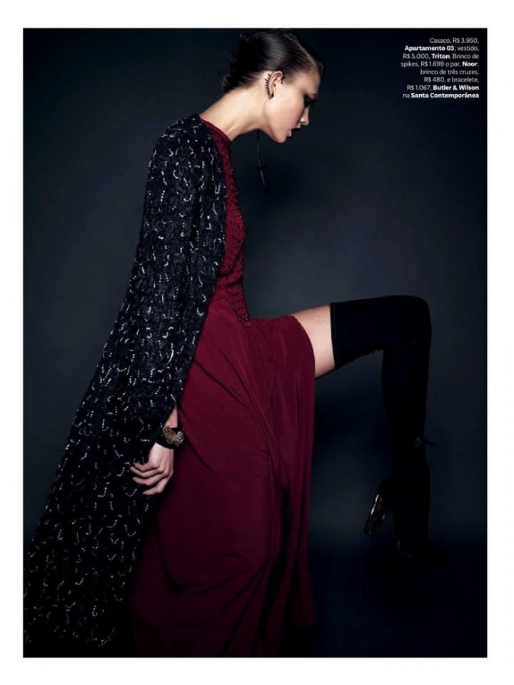 Karlie Kloss @ Vogue Brazil July 2014