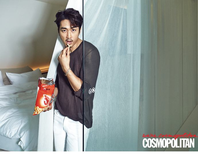 Song Seung Heon @ Cosmopolitan Korea August 2014