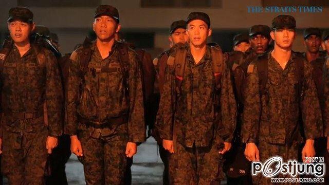 ความแข็งแกร่งของทหารสิงคโปร์