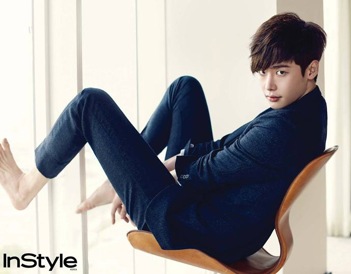 Lee Jong Suk @ InStyle Korea September 2014