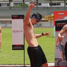 วิ่งสู้ฟัด ผลัดกันวิ่ง กับหนุ่ม Men's Health Guys' Challenge 2014 และ 3 พี่น้องครอบครัว ฉัตรบริรักษ์