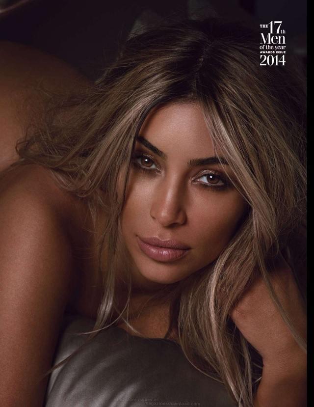 Kim Kardashian @ GQ British October 2014