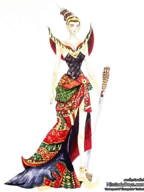 รวมงานออกแบบชุดประจำชาติที่เข้าร่วมประกวดปีนี้บางส่วน (ขยายเวลาส่งถึง 30 กันยายน)