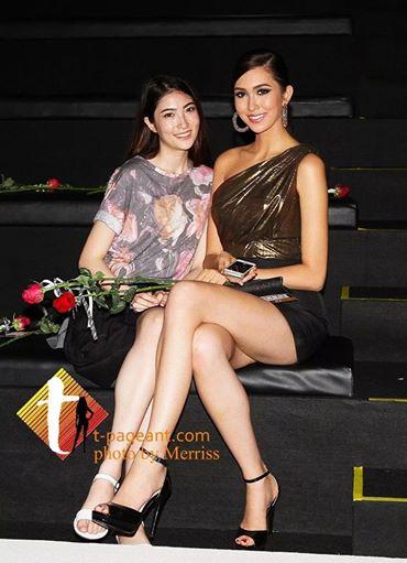 Miss World & Universeat ELLE Fashion Week 2014 in Bangkok