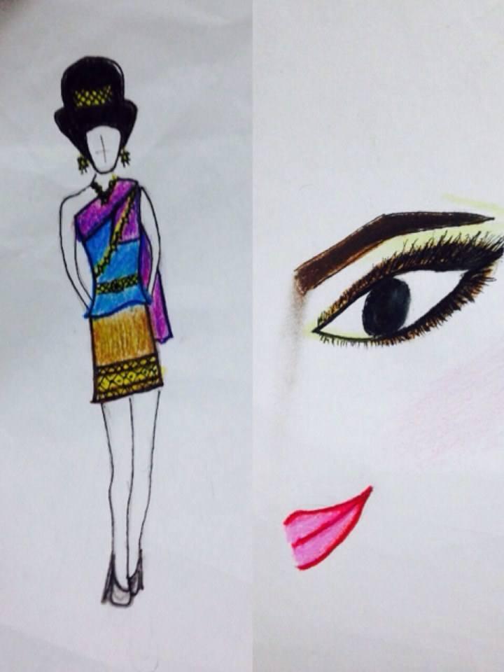 ออกแบบชุดประจำชาติไทย