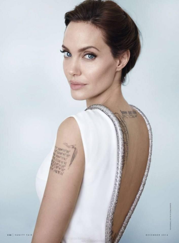 Angelina Jolie @ Vanity Fair December 2014
